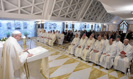 Encouragement should be heritage a pope or bishop leaves, pope says