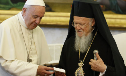 Pope, patriarch call for ethical intervention in economy