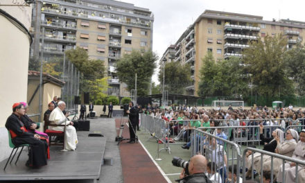 Cardinal Tagle joins Pope Francis at Santissimo Sacramento