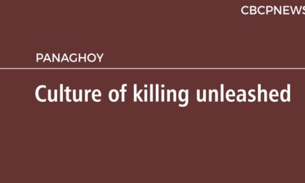 Culture of killing unleashed
