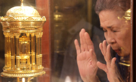 St. Augustine's relic is touring PH