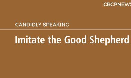 Imitate the Good Shepherd