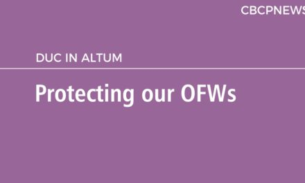 Protecting our OFWs