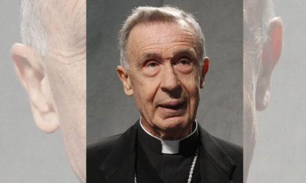 Teaching on all-male priesthood is definitive, cardinal-designate says