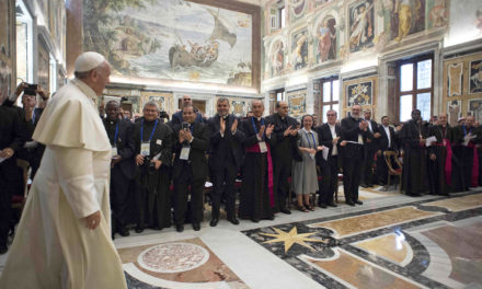 Missionary work is about sharing God's love, not raising money, pope says