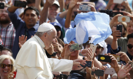 Pope launches appeal that World Cup in Russia helps promote peace