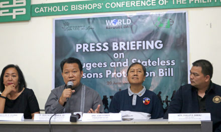 Church agency backs refugee bill