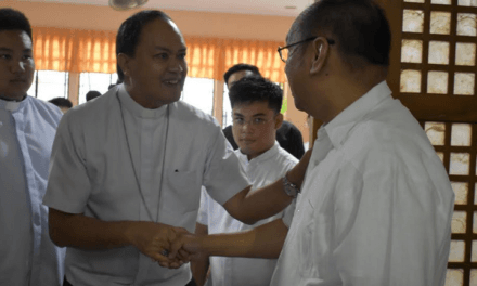 Seminarians asked: 'Why be quiet when faith is being attacked?'