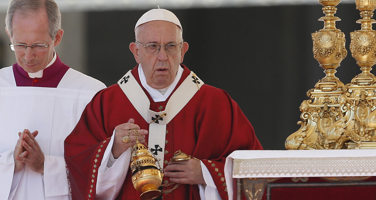 Help those in need, never waste food, pope says