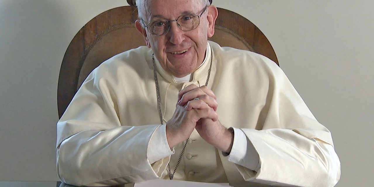 Learn from the past before looking to future, pope tells young people