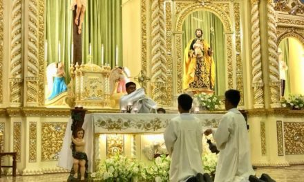 Taguig parish holds 'holy hour in reparation for blasphemy'