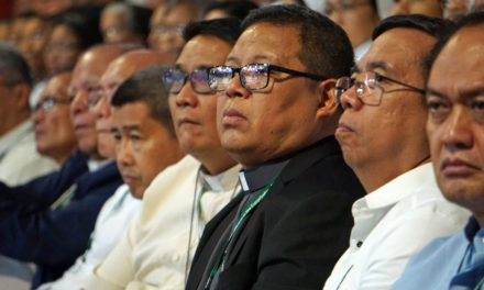 Bishop to PNP chaplains: 'Elevate' spirituality of police force