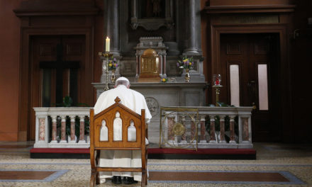 Pope meets survivors of abuse in Ireland