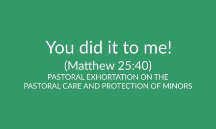 You did it to me! (Matthew 25:40)