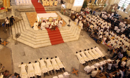 Cebu archdiocese ordains 13 new priests