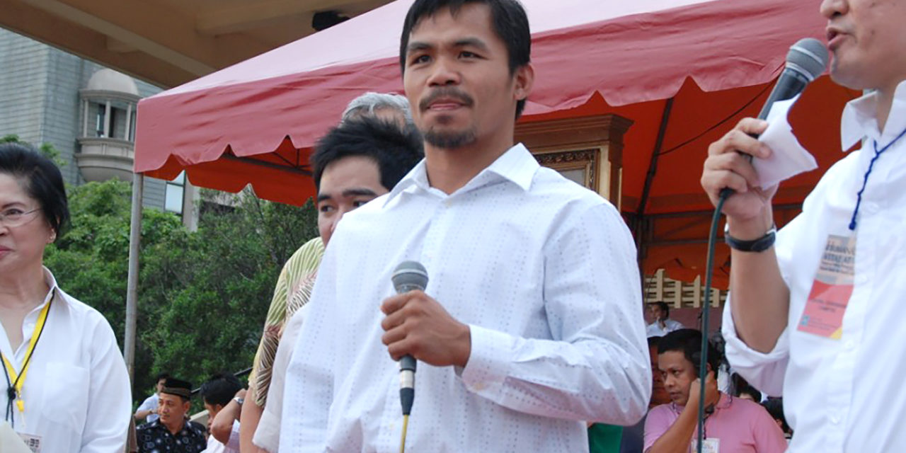 Pacquiao accused of 'misleading' the public