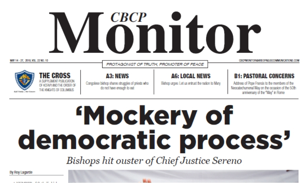CBCP Monitor Vol 22 No 10