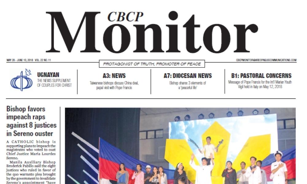 CBCP Monitor Vol 22 No 11