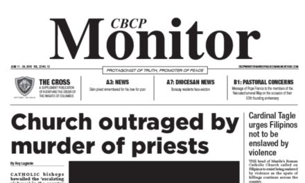 CBCP Monitor Vol 22 No 12
