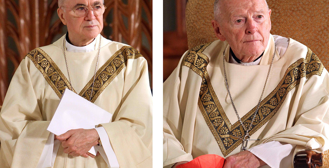 Former nuncio now says sanctions against McCarrick were 'private'