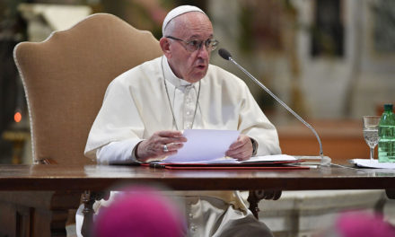 Reach out to unmarried couples, support newlyweds, pope urges