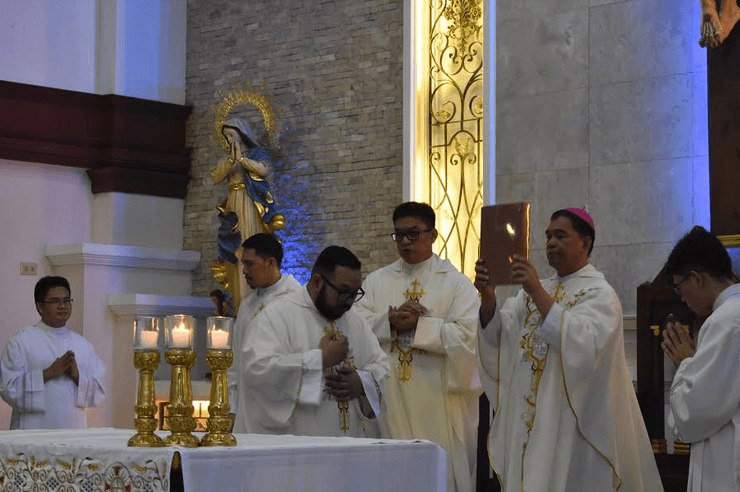 New bishop's reflection: 'Mary guided me'