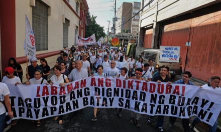 Filipinos urged on martial law anniversary: 'Resist dictatorship'