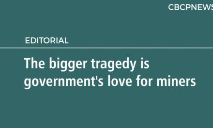 The bigger tragedy is government's 'love' for miners