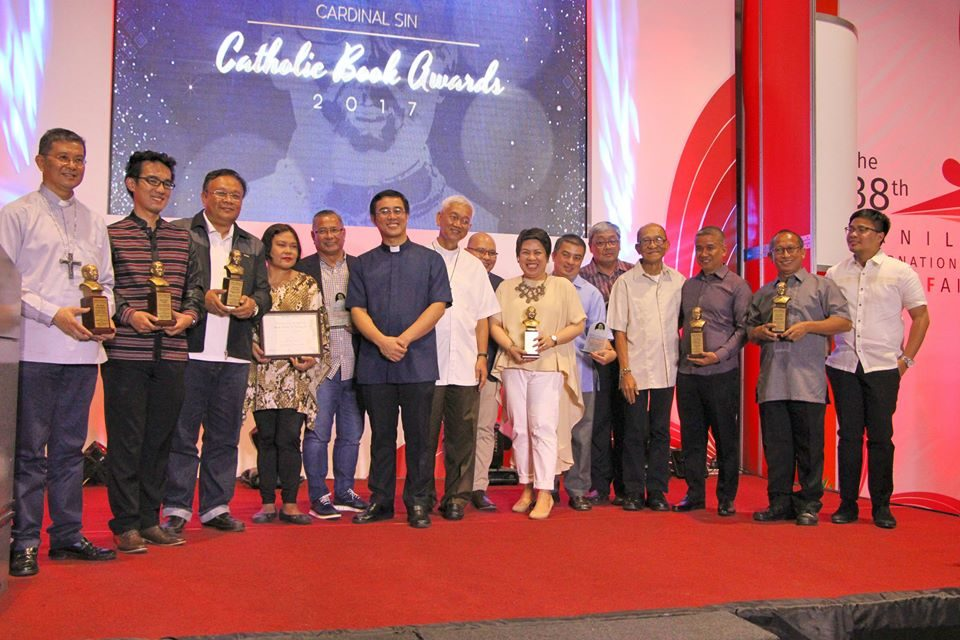 Cardinal Sin Catholic Book Lifetime awardees are 'gifts' to the Church