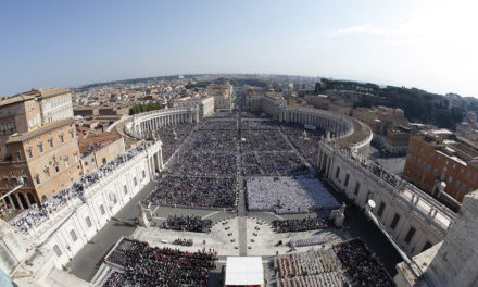 Canonization at St. Peter's Square