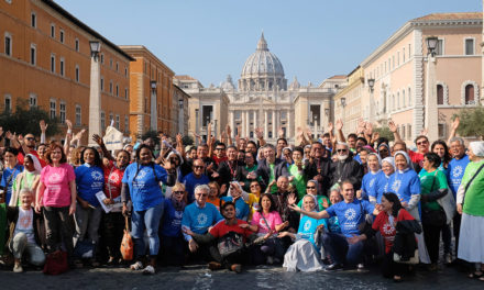 Cardinal Tagle leads 'Share the Journey Walk' in Rome