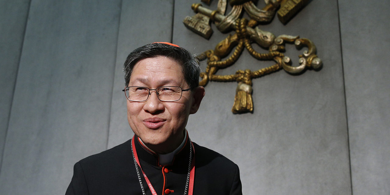 Pope appoints Cardinal Tagle to top Vatican post