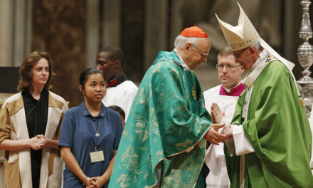 Pope ends synod on youth