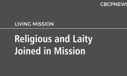 Religious and Laity Joined in Mission