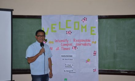 Sagada youth learn 'responsible journalism'