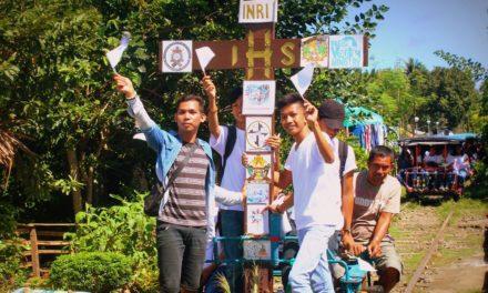 Gumaca's Youth Cross visits parishes, schools during pilgrimage