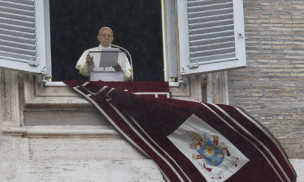 People must choose: path toward holiness or nothing, pope says