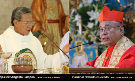 Pope accepts resignation of Cardinal Quevedo of Cotabato; names Bishop Lampon as successor