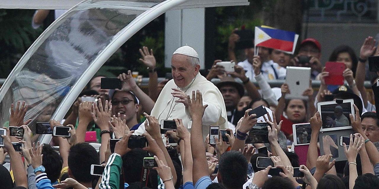 Pope calls PH 'great Catholic nation'