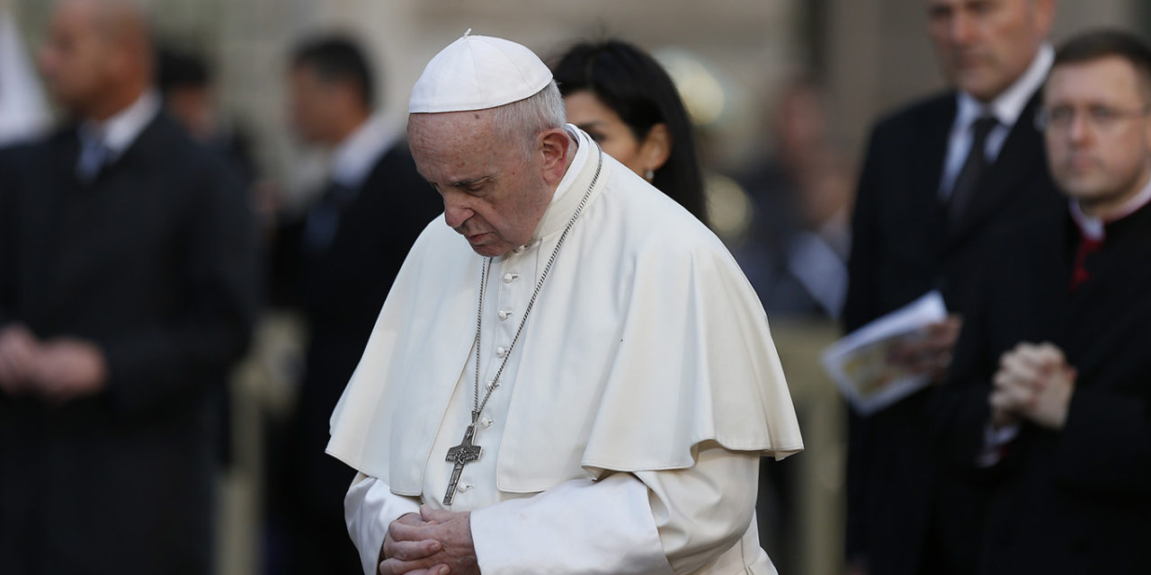Everyone must respect the basic human rights of all human beings, pope says