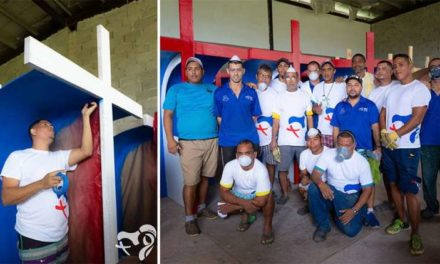 Inmates building 250 confessionals for 2019 World Youth Day