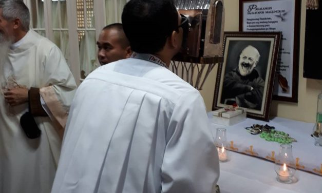'How 20 days with Padre Pio's incorrupt heart changed me'