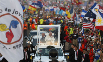 Pope joins pilgrims at WYD prayer vigil