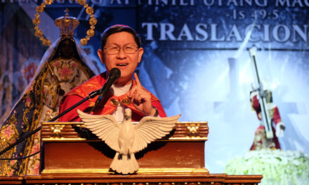 Devotion is embracing God and others with real love, says Cardinal Tagle
