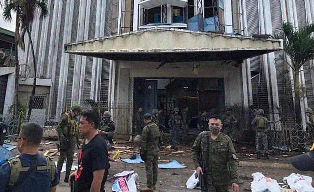 Jolo church blasts hit as 'most heinous desecration'