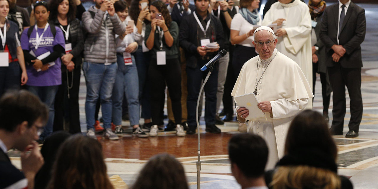 Pope to issue post-synod document on young people in March