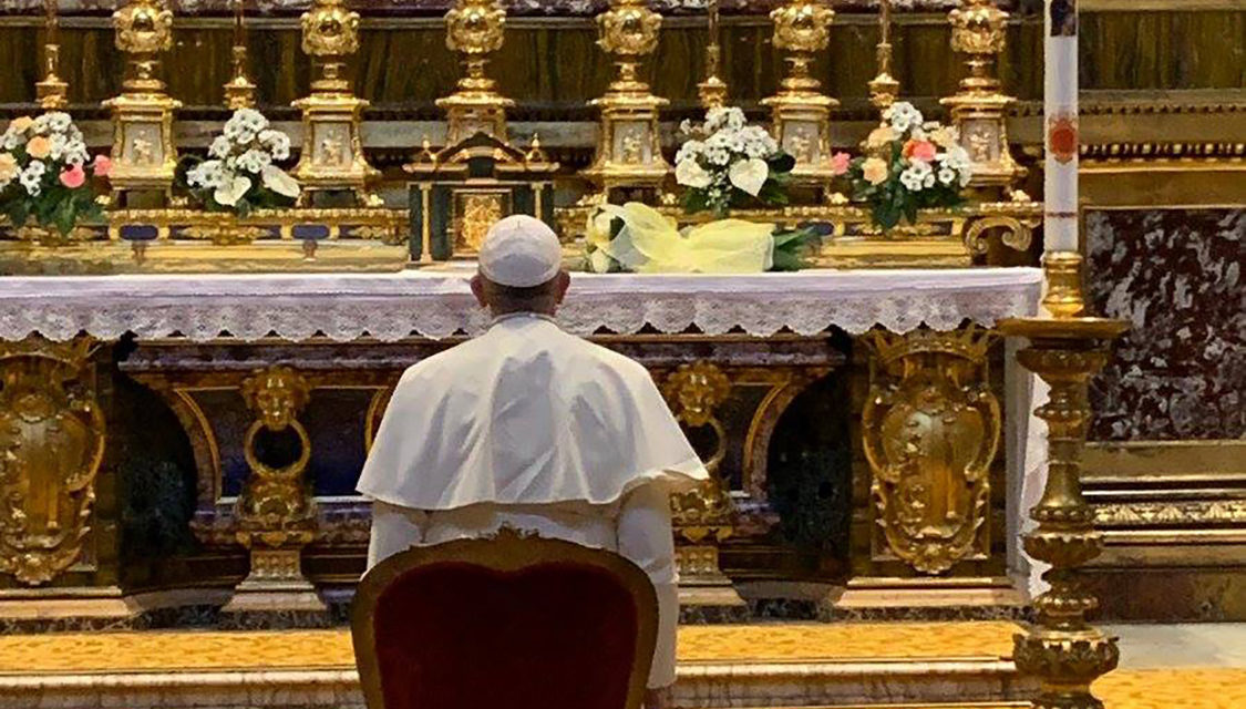 Pope says Church is working to end abuse of women religious by clerics