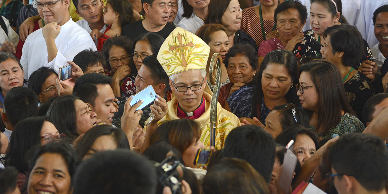 Bishop Antonio takes possession of northern diocese