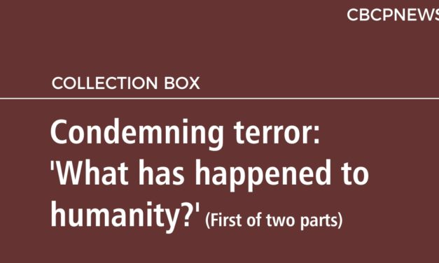 Condemning terror: 'What has happened to humanity?' (First of two parts)