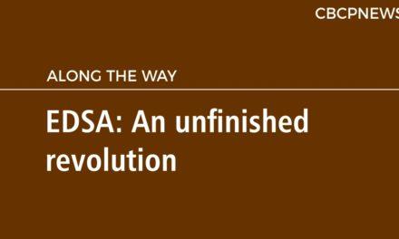 EDSA: An unfinished revolution